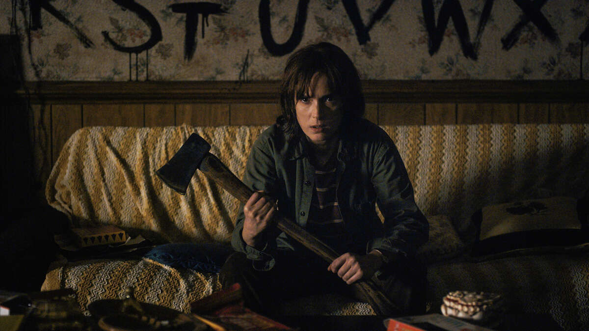 Stranger Things : This supernatural series about the mysterious disappearance of children in a small midwestern town is an exercise in 80s nostalgia. The show pays unabashed homage to an entire library of 70s and 80s films, including The Goonies, Poltergeist, The Frighteners, Firestarter, Altered States and Jaws among others. Stranger Things is a fun and scary ride that delivers you back to your 11-year-old self. (Netflix)