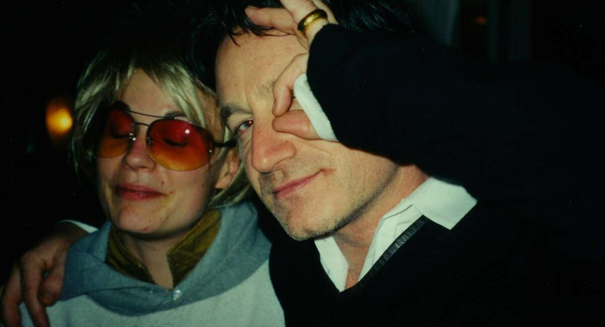 """Savannah Knoop (as JT Leroy) and Bono in the new documentary """"Author: The JT LeRoy Story,"""" a Magnolia Pictures release."""