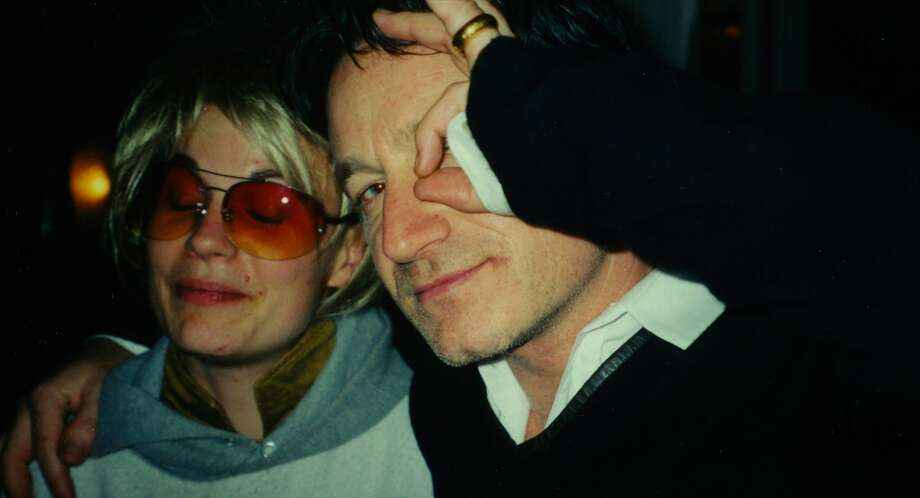"""Need combo cap: Above: Savannah Knoop (as JT Leroy) and Bono in the new documentary """"Author: The JT LeRoy Story,"""" directed by Jeff Feuerzeig (right photo) Photo: Magnolia Pictures"""