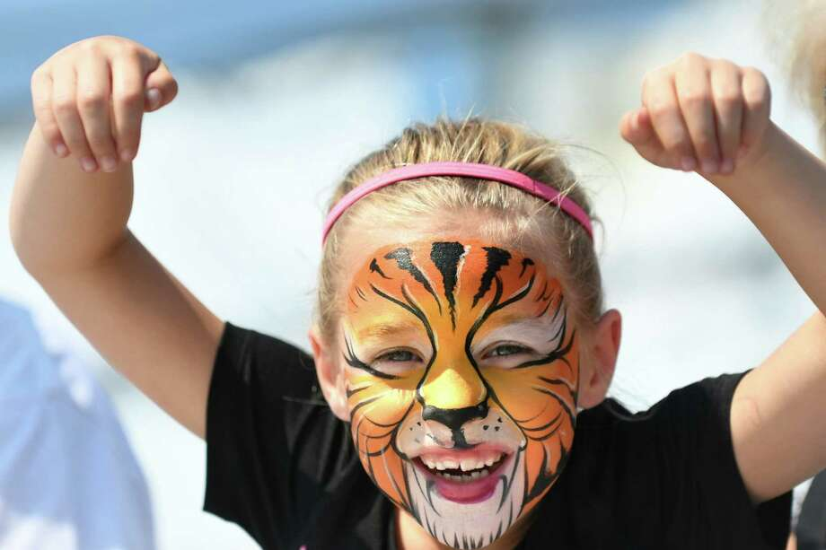 Sunny Zugar, 6, of Argyle roars like a tiger for the camera during the Washington County Fair on Wednesday, Aug. 24, 2016, at the fairgrounds in Easton, N.Y. The fair runs through Sunday. (Cindy Schultz / Times Union) Photo: Cindy Schultz / Albany Times Union