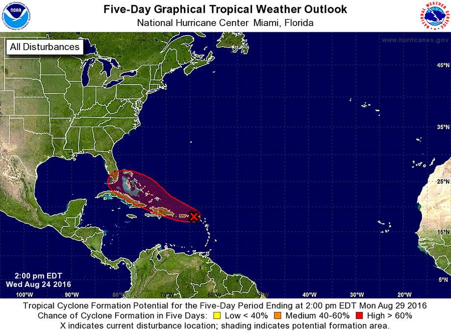 Tropical system could threaten Florida, Gulf states