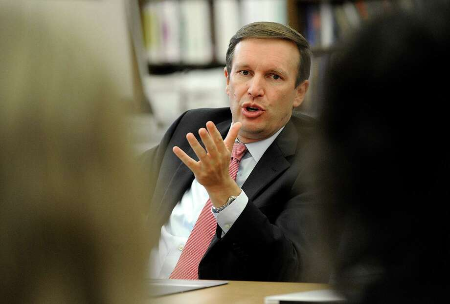 U.S. Senator Chris Murphy. Photo: Carol Kaliff / Hearst Connecticut Media / The News-Times