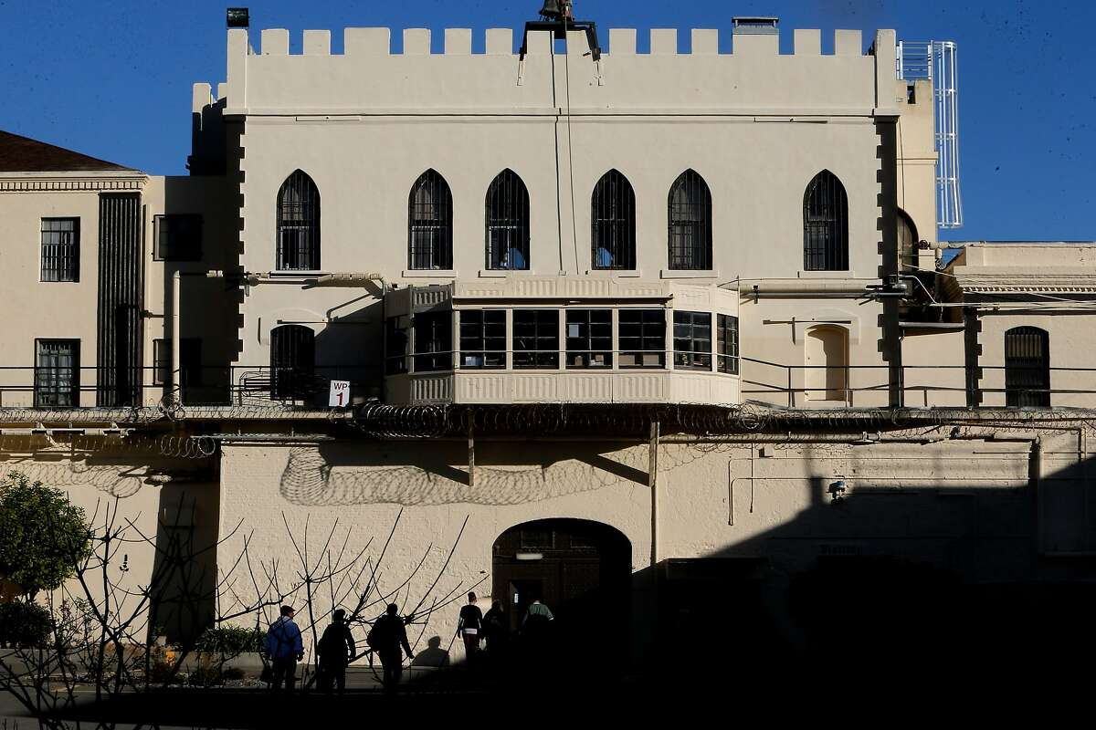 The buildings near death row at San Quentin State Prison on Tuesday December 29, 2015, in San Quentin, Calif.