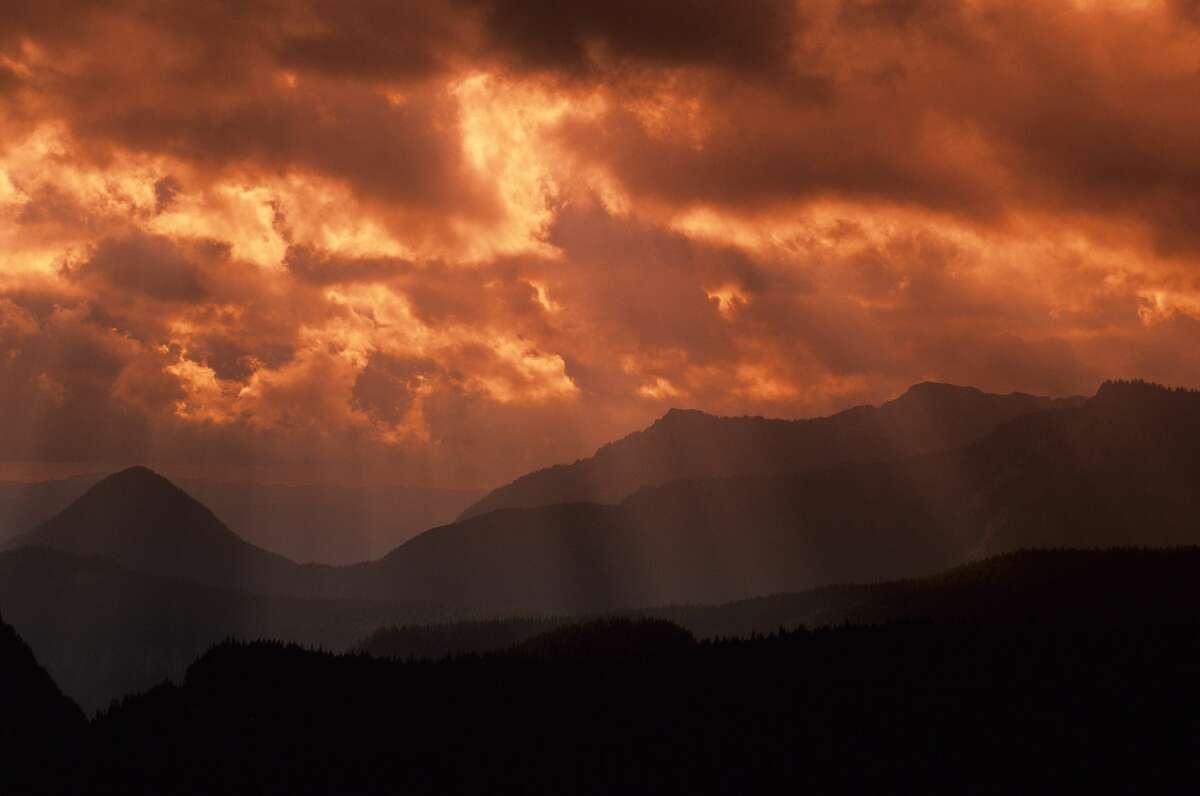 Mount Rainier National Park mountains. (Photo by Wolfgang Kaehler/LightRocket via Getty Images)
