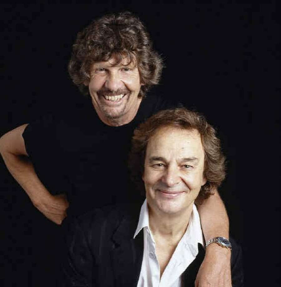 Rod Argent and Colin Blunstone of the Zombies will play. Photo: Publicity By Design