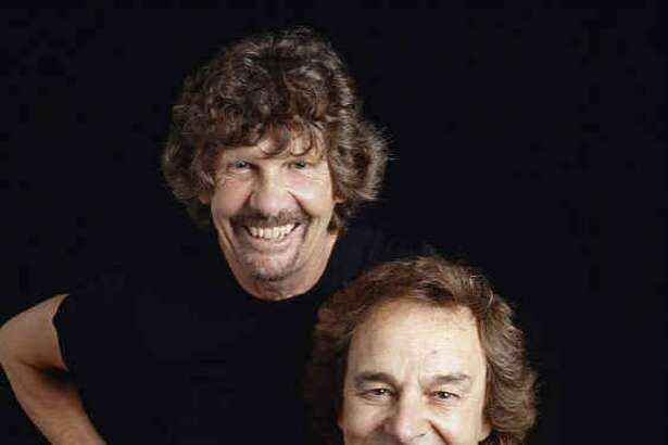 Rod Argent and Colin Blunstone of rock band the Zombies