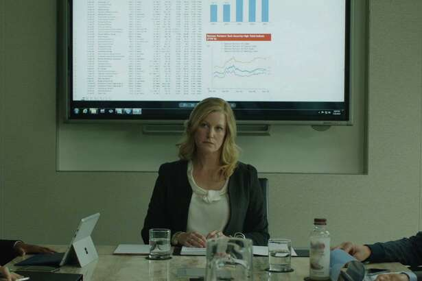 "Anna Gunn plays an investment banker in ""Equity."""