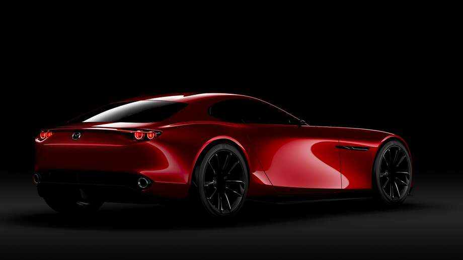 """FILE - An undated handout photo of the Mazda RX-VISION, a rotary-powered sports car concept. The vehicle won the """"Most Beautiful Concept Car of the Year"""" award at the 31st Festival Automobile International in Jan. 27, 2016. Photo: File/Mazda Motor Company"""