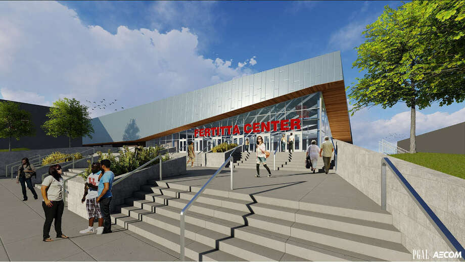 A rendering of UH's renovated Fertitta Center, which is expected to be ready for the 2018-19 season.Click through the gallery to see more renderings and photos from Thursday's news conference. Photo: University Of Houston