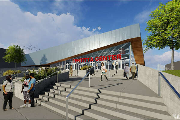 A rendering of UH's renovated Fertitta Center, which is expected to be ready for the 2018-19 season.