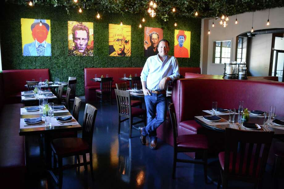 Dave Studwell is a co-owner at Washington Prime a new restaurant that opened in Redding on Main St. over the summer. Wednesday, August 24, 2016. Photo: Lisa Weir / For Hearst Connecticut Media / The News-Times Freelance
