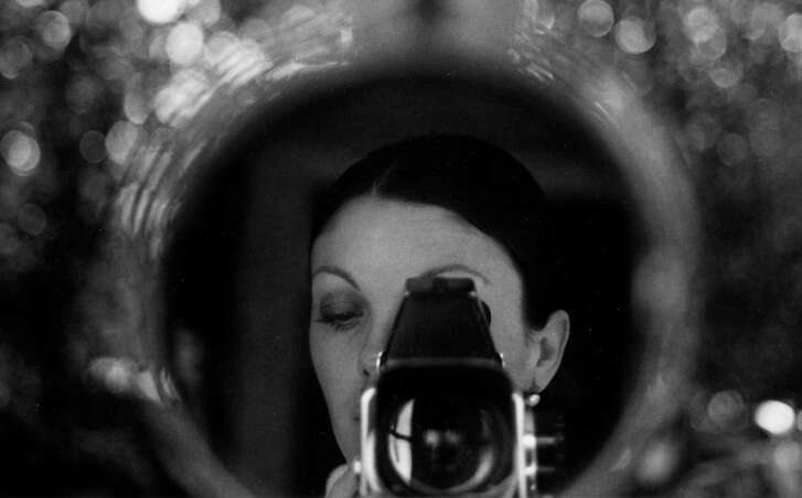 """""""Autorretrato en mi casa"""" is one of the images in """"A Lens to See,"""" an exhibit of works by Mexican photographer Graciela Iturbide at Ruiz-Healy Art. The show is part of Fotoseptiembre USA."""