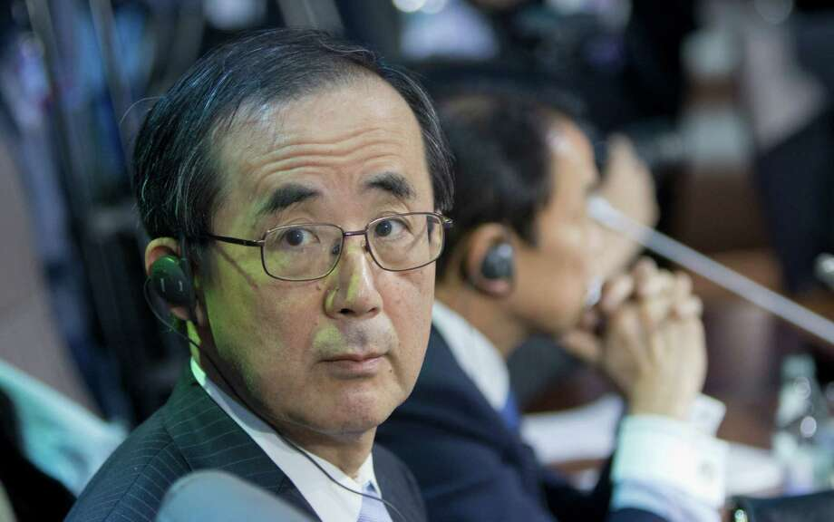 Masaaki Shirakawa is the governer of the Bank of Japan, which, along with other central banks, have pumped trillions of dollars into global financial markets. Japan even has taken the radical step of pushing interest rates below zero. But the results have been lackluster. Photo: Associated Press /File Photo / AP2013