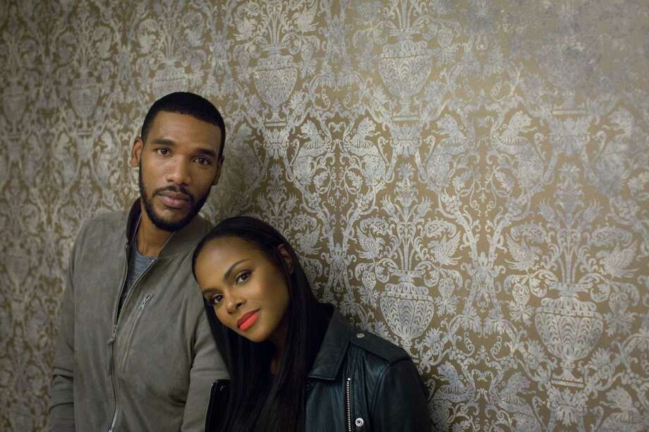 Parker Sawyers and Tika Sumpter each see parallels in their families' regrets to those of Barack and Michelle Obama. Photo: Marie D. De Jesus, Staff / © 2016 Houston Chronicle