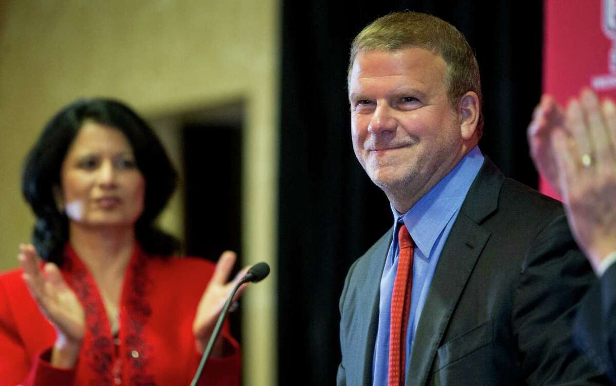 UH board of regents chairman Tilman Fertitta said the school should learn its Big 12 fate in the next few months.