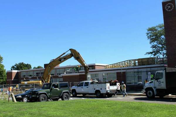 The new wing and renovations to Saxe Middle School are projected to be finished by fall 2017.