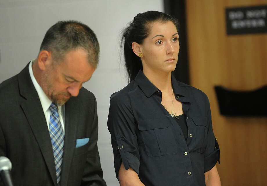 Samantha Monaco, of Shelton, appears in court on vehicular manslaughter charges at Superior Court in Derby, Conn. on Thursday, August 25, 2016. House arrest was ordered for Monaco, charged for the head on crash that killed Rosemarie Dwyer on May 6, pending trial. Photo: Brian A. Pounds / Hearst Connecticut Media / Connecticut Post