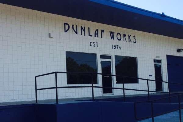 Multi-tenant commissary building at 8209 Dunlap.