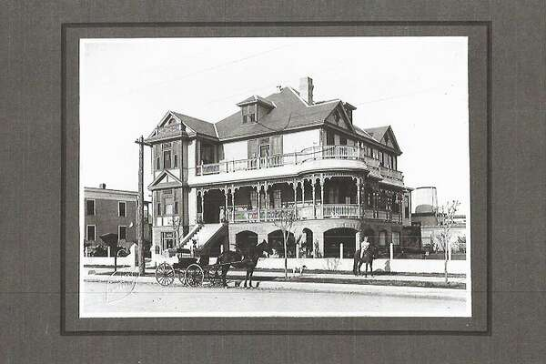 The historic Mistrot House in Galveston.