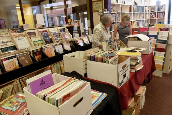 VanCurler Music Store in the Proctors Arcade on Friday Aug. 19, 2016 in Schenectady, N.Y. (Michael P. Farrell/Times Union)