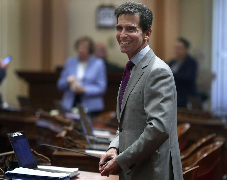 Then-state Sen. Mark Leno at the state Capitol in August. Photo: Paul Chinn, The Chronicle