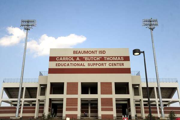 "The Carrol A. ""Butch"" Thomas Educational Support Center is named for the former Beaumont ISD superintendent.  Tammy McKinley/The Enterprise"