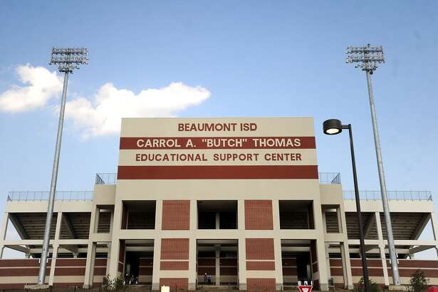 """The Carrol A. """"Butch"""" Thomas Educational Support Center is named for the former Beaumont ISD superintendent.  Tammy McKinley/The Enterprise"""