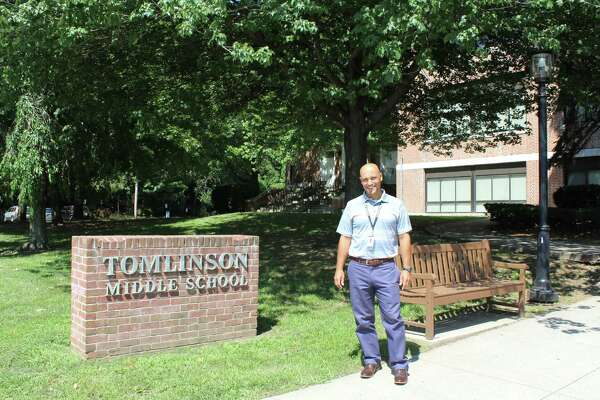 Anthony Formato is the new principal for Tomlinson Middle School, starting this fall.