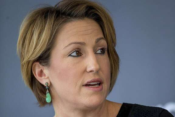 Heather Bresch, chief executive officer of Mylan Inc., speaks during a panel discussion at the Bloomberg Year Ahead: 2015 conference in Washington, D.C., on Nov. 14, 2014. MUST CREDIT: Bloomberg photo by Andrew Harrer.