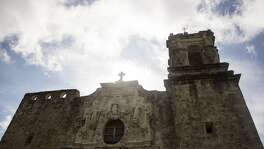 Mission San Jose on August 25, 2016 in San Antonio, Texas.  The National Park Service, of which San Antonio's Missions is a part, turns 100 years old Thursday.