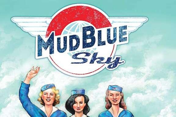 """Artwork for """"Mud Blue Sky,"""" 2015."""