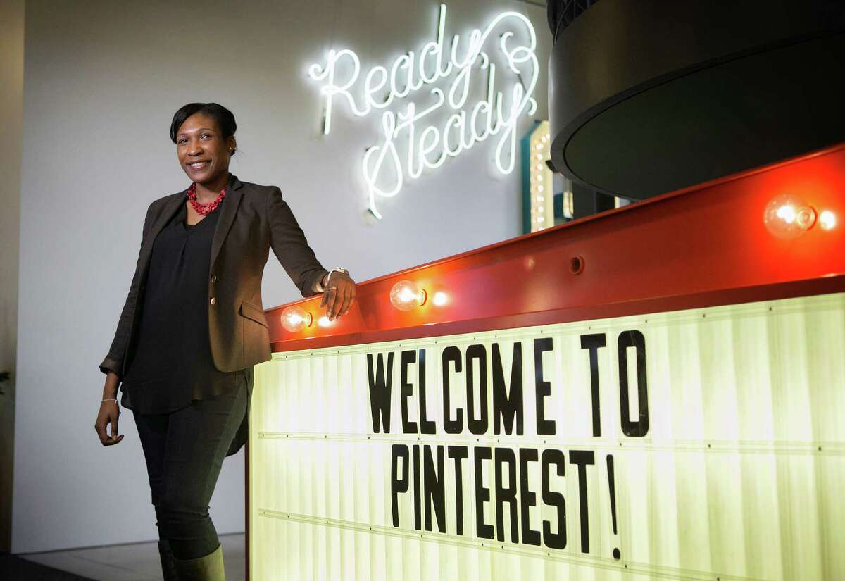 Pinterest Chief Diversity Officer Candace Morgan poses for a portrait at the Pinterest offices on Tuesday, Jan. 19, 2016 in San Francisco. (LiPo Ching/Bay Area News Group/TNS)