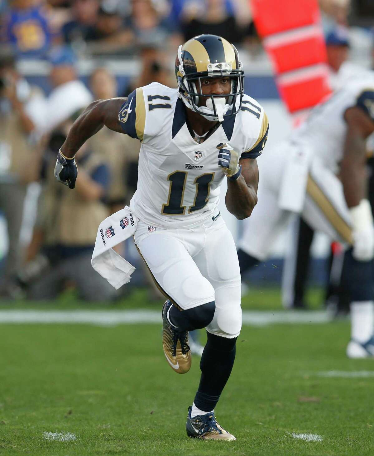 Tavon Austin, WR, Rams I'm opening myself up for ridicule with this one, but he totaled over 900 yards of offense and had nine touchdowns last season. He'll be nobody's first, second or even third option, but it looks like he finally started to find ways to contribute last year. The Rams will need to lean heavy on Todd Gurley and find ways to continue to get the ball into Austin's hands in a variety of ways. Going typically in the 11th round, you can afford to take a flyer on this guy.