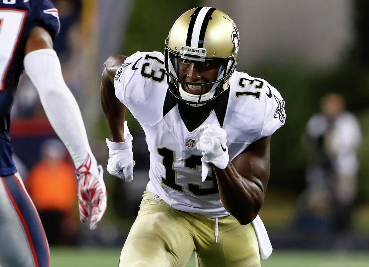 Michael Thomas, WR, Saints There are quality receivers in New Orleans, but Thomas could end up being worth a later-round pick if he continues to impress like he did in his first preseason game -- four catches for 67 yards, though just one catch for five yards in his second game. He's being drafted in the middle of the 10th round, so if he's around at that point, you might as well snag him.