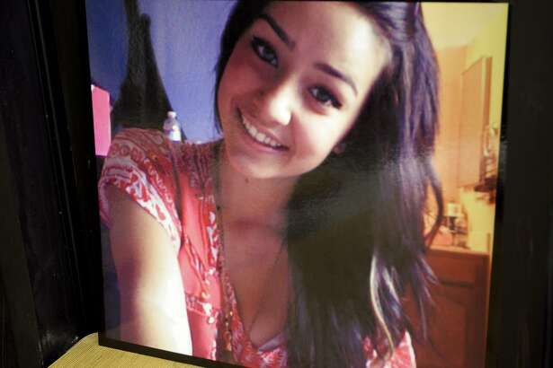 """FILE - This undated file photo shows a picture of missing 15-year-old Sierra LaMar at Burnett Elementary School in Morgan Hill, Calif. Marlene LaMar, Sierra's mother, hasn't seen her daughter since she left her home in Morgan Hill to go to school on the morning of March 16. The worried mother, who continues to express hope for the safe return of her daughter, has issued a statement describing her Mother's Day as a """"time of reflection."""" Authorities believe Sierra was kidnapped while walking to a school bus stop. (AP Photo/Ben Margot, File)"""