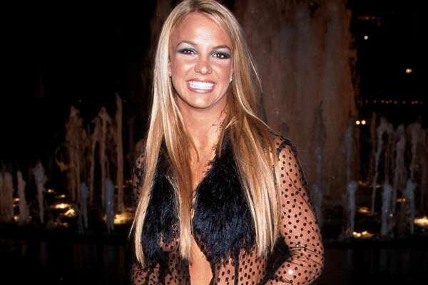 Britney Spears during The 1999 MTV Video Music Awards at the Metropolitan Opera House in New York, New York.