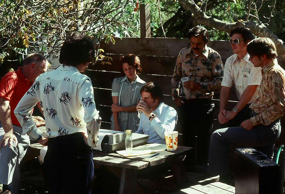 On August 27, 1976, a team of researchers from SRI International sent what some believe is the first Internet transmission from the Alpine Inn Beer Garden in Portola Valley, popularly known as Rossotti's or Zott's. Photo Courtesy: Don Nielson Photo: Don Nielson