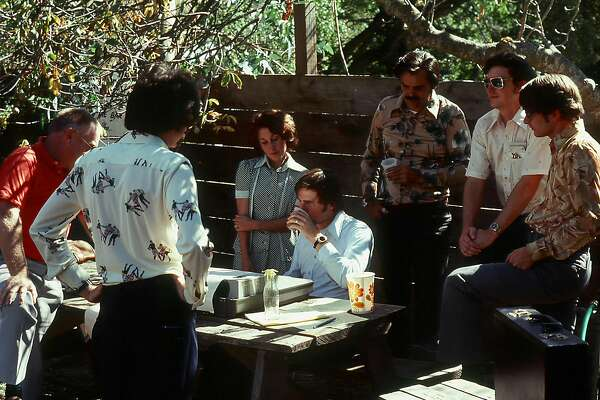 On August 27, 1976, a team of researchers from SRI International sent what some believe is the first Internet transmission from the Alpine Inn Beer Garden in Portola Valley, popularly known as Rossotti's or Zott's. Photo Courtesy: Don Nielson