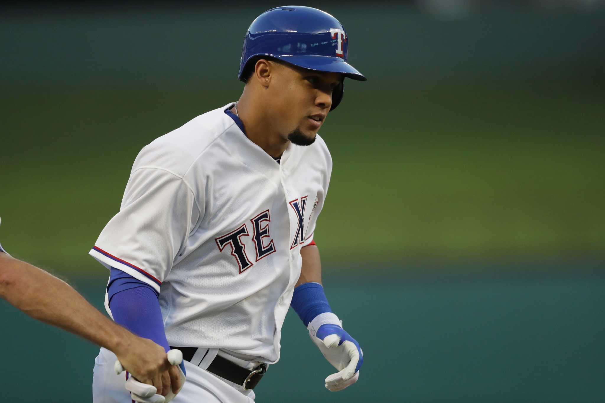 Ex-Astro Carlos Gomez cranks three-run homer in Rangers ...