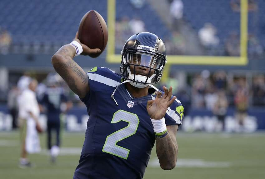 QUARTERBACK (2)Russell WilsonTrevone Boykin* (above)Notes: Boykin struggled under intense pressure from the Raiders, completing just seven of 15 pass attempts for 72 yards. Seattle can't feel comfortable with its backup situation behind Wilson, but the team's only option aside from Boykin would be to bring in a veteran who is completely new to the Seahawks offense.
