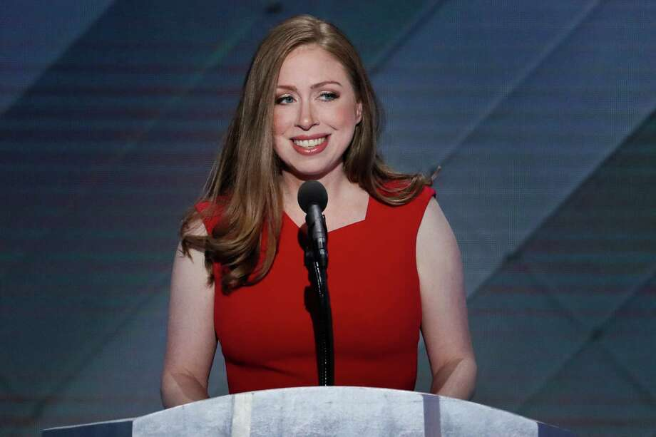 FILE - In this July 28, 2016 file photo, Chelsea Clinton, daughter of Democratic presidential nominee Hillary Clinton speaks during the final day of the Democratic National Convention in Philadelphia. A Clinton spokeswoman says the daughter of former President Bill Clinton, the founder of the family foundation, and the Democratic presidential nominee will stay on the foundation's board. (AP Photo/J. Scott Applewhite, File) ORG XMIT: WX107 Photo: J. Scott Applewhite / Copyright 2016 The Associated Press. All rights reserved. This m