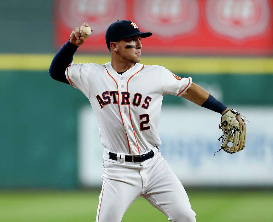Alex Bregman has adjusted to third base like a duck to water, much to the Astros' surprise and delight. Photo: Karen Warren, Staff / © 2016 Houston Chronicle