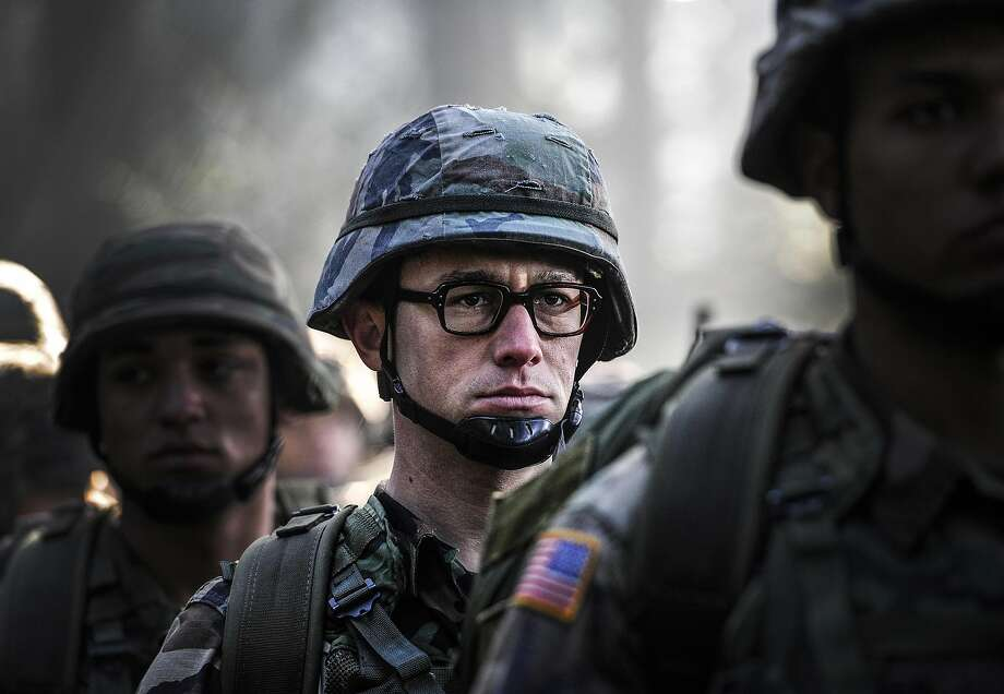 An undated handout image of Joseph Gordon-Levitt in a scene from the movie Snowden, about the controversial figure Robert Snowden, from Open Road Films. In a presidential election year, the only real October surprise from Hollywood would be a complete absence of films with political tinges, and already, release schedules for the months preceding Nov. 8, Election Day, are peppered with movies that have partisan potential. (Open Road Films via The New York Times) -- NO SALES; FOR EDITORIAL USE ONLY WITH STORY SLUGGED HOLLYWOOD POLITICS  BY CIEPLY FOR MARCH 14, 2016. ALL OTHER USE PROHIBITED. Photo: OPEN ROAD FILMS, NYT