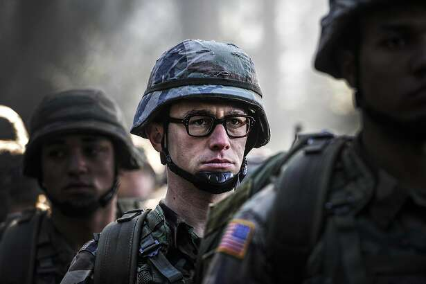 An undated handout image of Joseph Gordon-Levitt in a scene from the movie �Snowden,� about the controversial figure Robert Snowden, from Open Road Films. In a presidential election year, the only real �October surprise� from Hollywood would be a complete absence of films with political tinges, and already, release schedules for the months preceding Nov. 8, Election Day, are peppered with movies that have partisan potential. (Open Road Films via The New York Times) -- NO SALES; FOR EDITORIAL USE ONLY WITH STORY SLUGGED HOLLYWOOD POLITICS  BY CIEPLY FOR MARCH 14, 2016. ALL OTHER USE PROHIBITED.