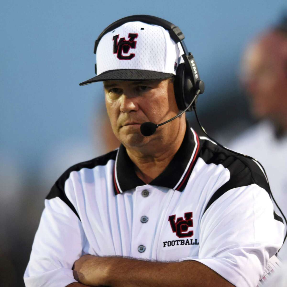 29. Ron Harris, Churchill High School  Total compensation: $97,829.67   Athletic coordinator and head football coach  North East ISD (Class 6A)  2020 record heading into last district game: 5-4 2019 record: 4-6