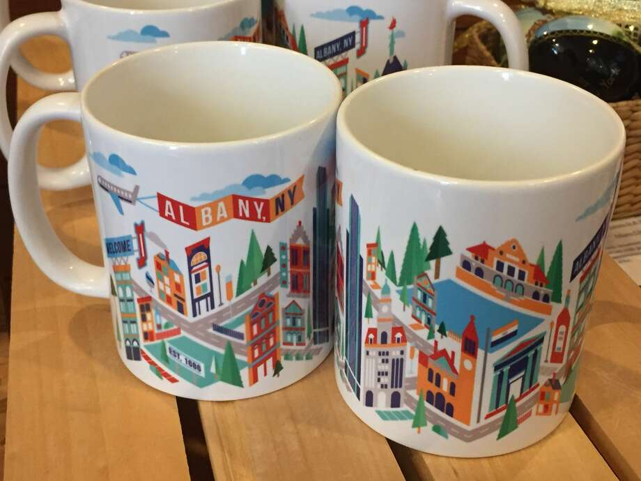 Streets of Albany coffee mug. Where can I get it? $12 atAlbany Heritage Area Visitors Center. Or $9 atEmpire State Plaza Visitor Center & Gift Shop. Photo: .