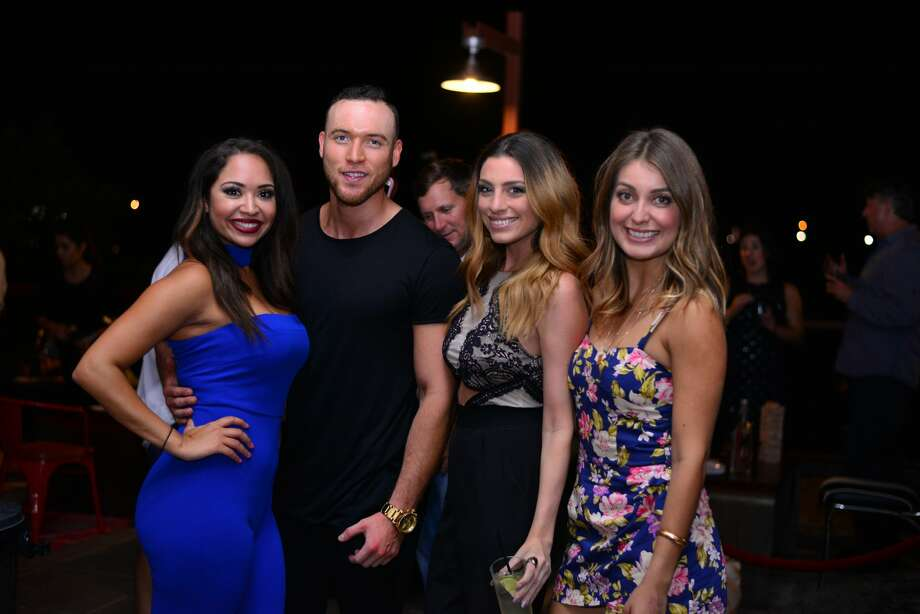San Antonio's hip and stylish showed up at the Paramour Thursday night, Aug. 25, 2016, for the club's anniversary party. Photo: By Kody Melton, For MySA