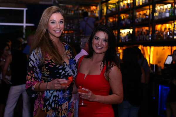 San Antonio's hip and stylish showed up at the Paramour Thursday night, Aug. 25, 2016, for the club's anniversary party.
