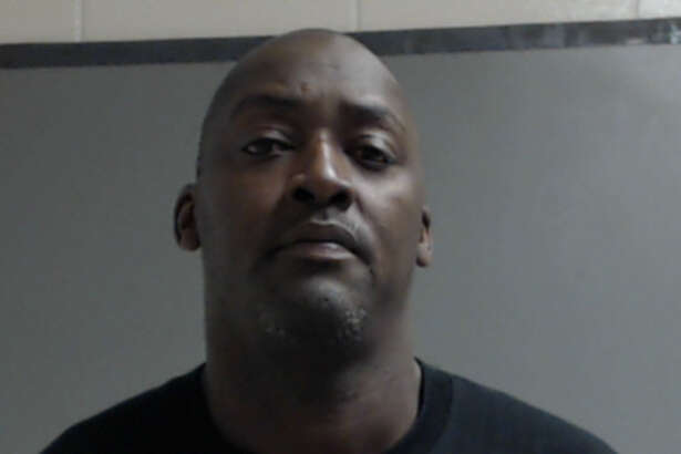 Ex-Dallas Cowboys quarterback Quincy Carter's booking photo following an August 26, 2016 arrest in South Texas over outstanding warrants.