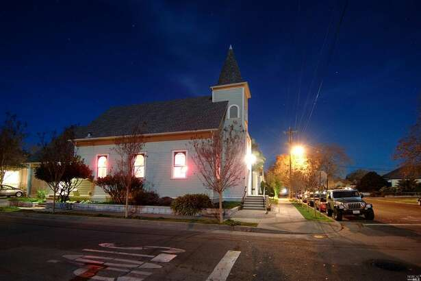 This 104-year-old church in Petaluma that has undergone a beautiful, simple restoration and been converted into home is on the market for $1.5 million.